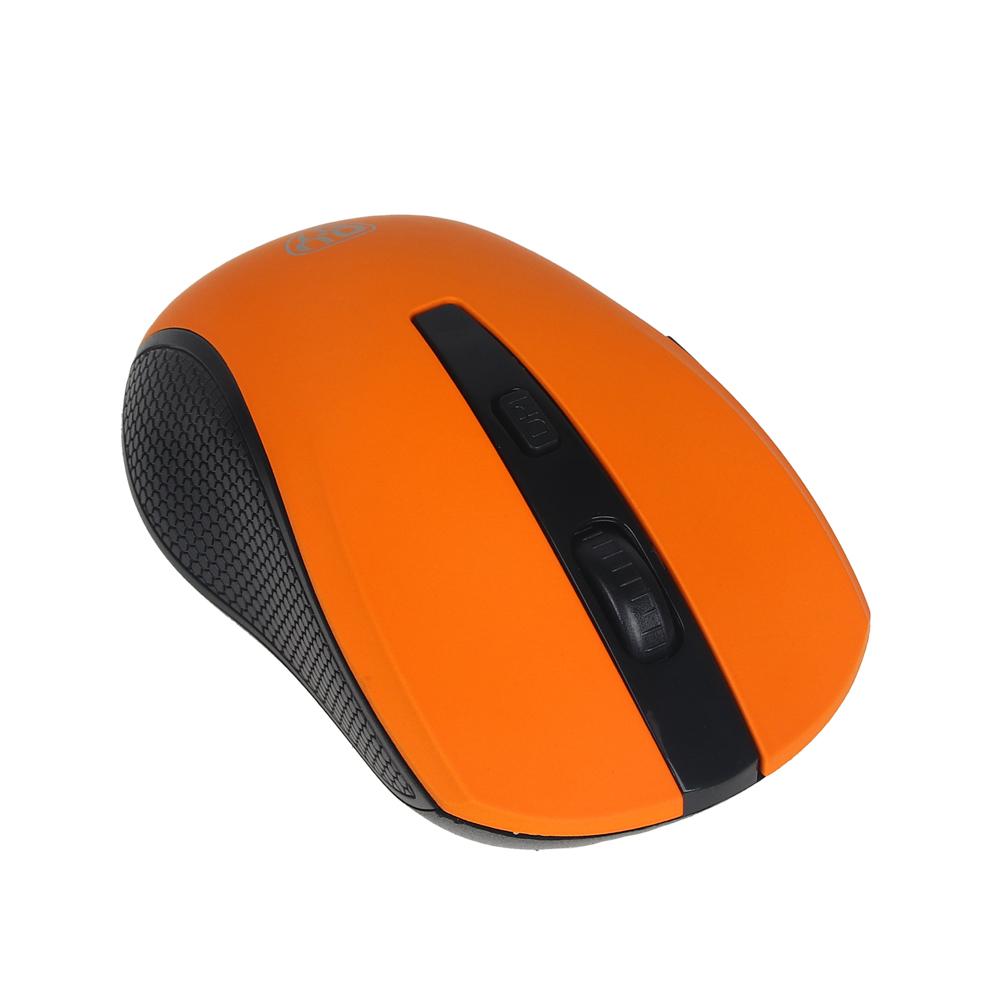 BY Компьютерная мышь беспроводная, 800/1200/1600DPI, покрытие Soft Touch, 1xAA, пластик