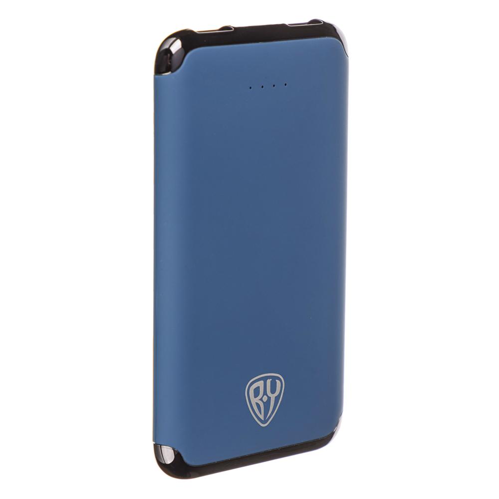 FORZA Аккумулятор мобильный, 6000мАч, 2xUSB, 2А, покрытие Soft-touch, пластик