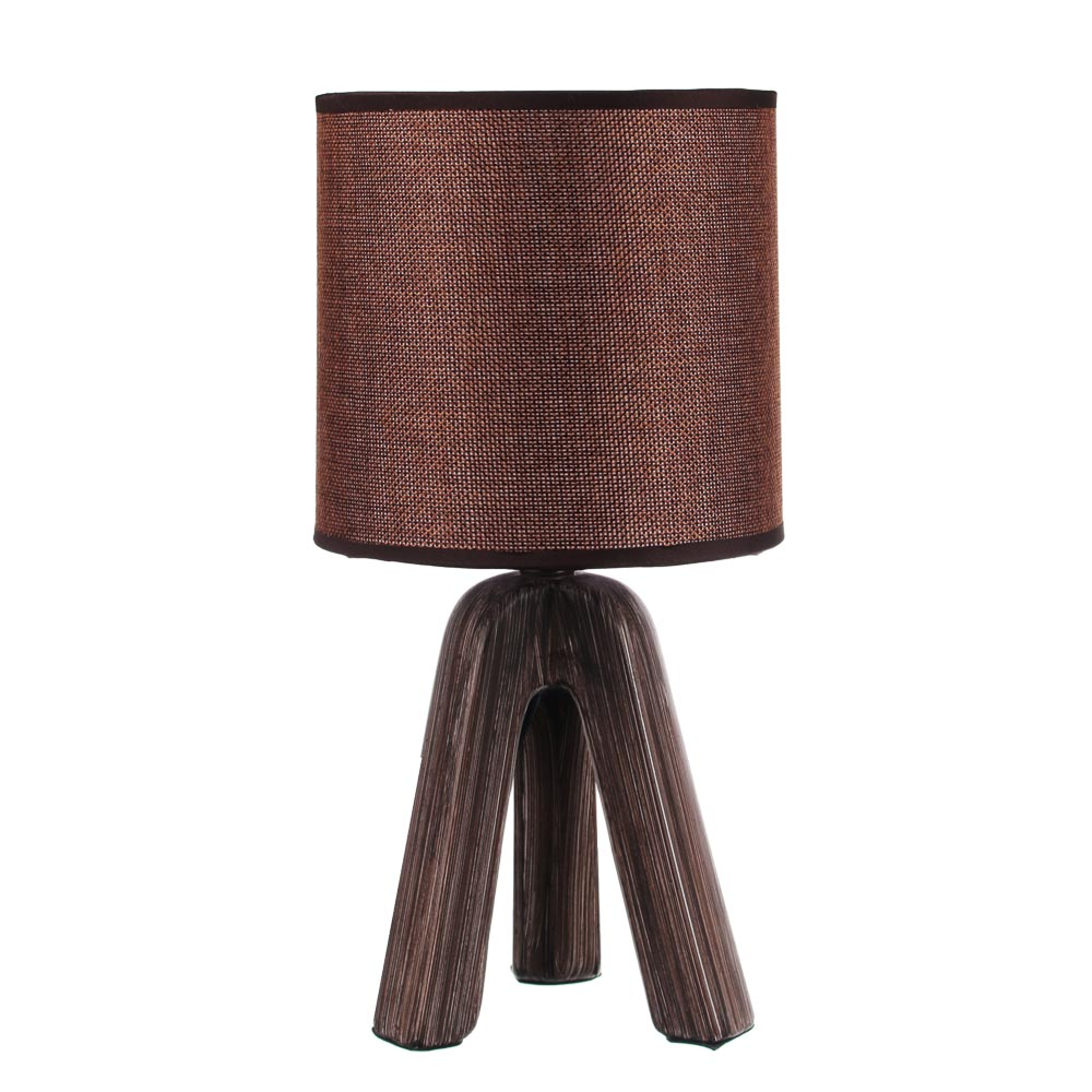 "FORZA Лампа настольная ""Венеция"", E14, 40 Вт, 220-240В, керамика, текстиль, 3 цвета"