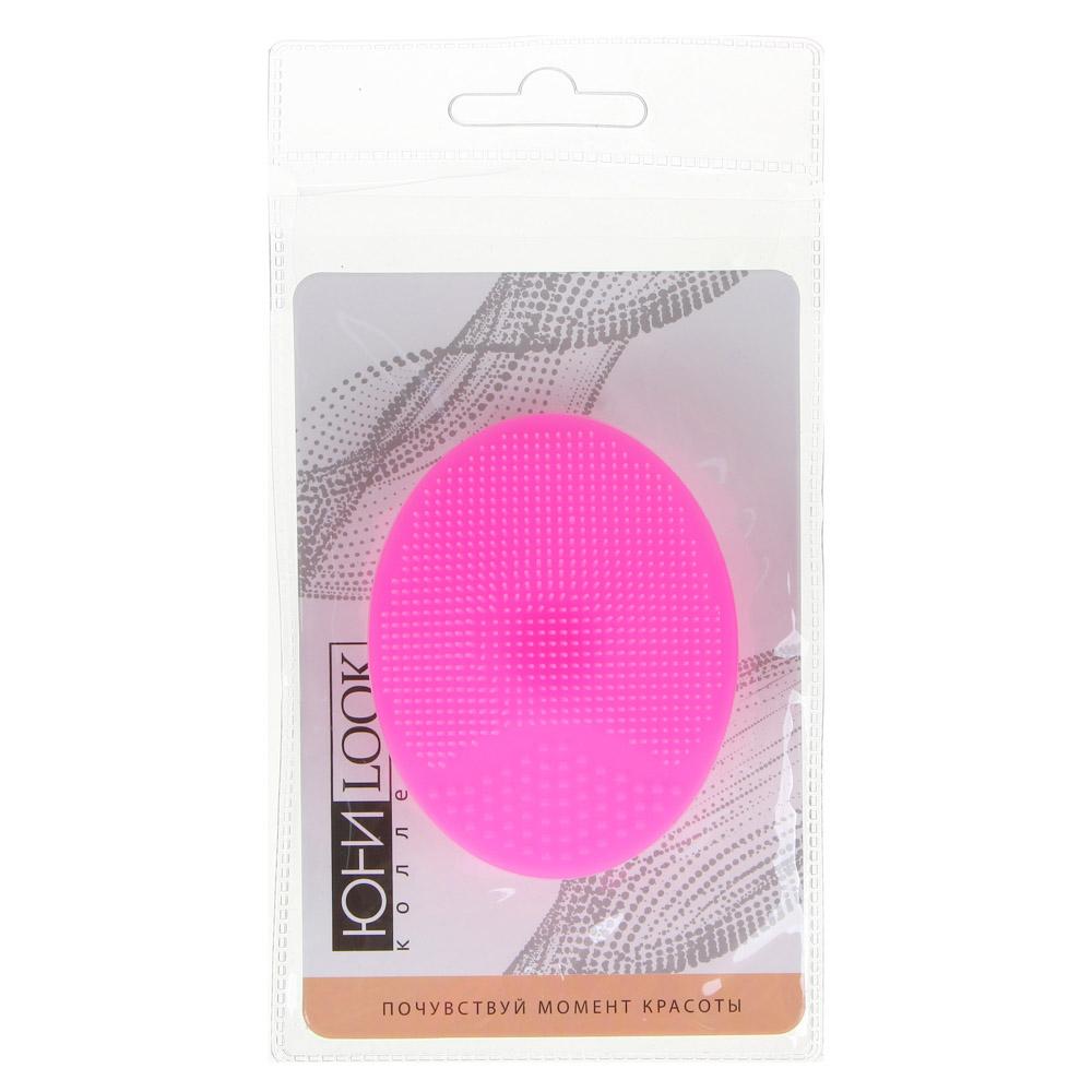 Щеточка для умывания ЮниLook, 6,5х5 см, 3 цвета