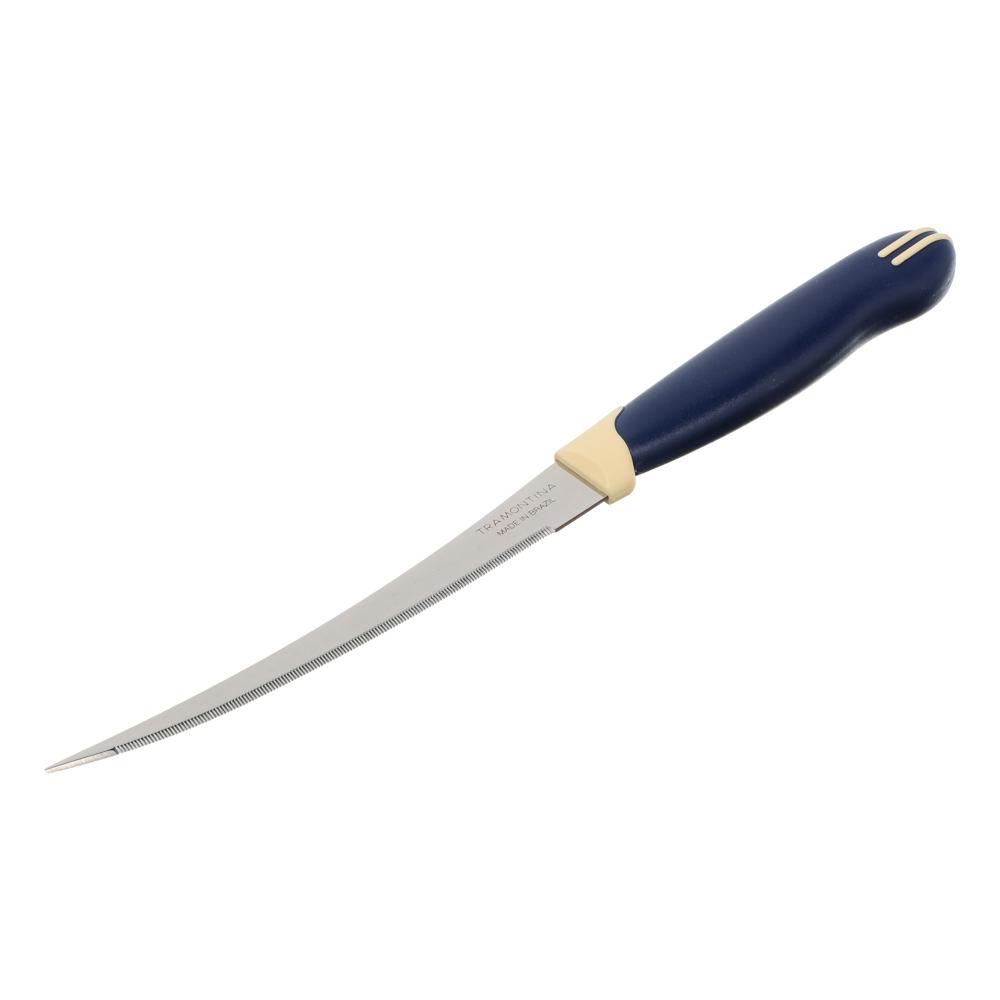 Tramontina Multicolor Нож для томатов 12.7см, блистер, цена за 2шт., 23512/215
