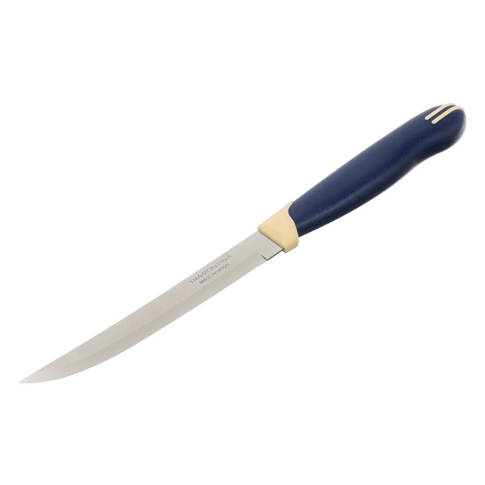 Tramontina Multicolor Нож кухонный 12.7см, блистер, цена за 2шт., 23527/215