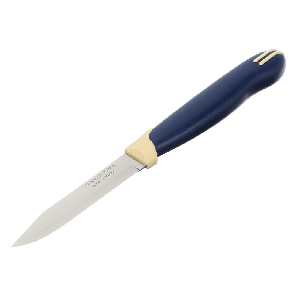 Tramontina Multicolor Нож овощной 8см, блистер, цена за 2шт., 23511/213