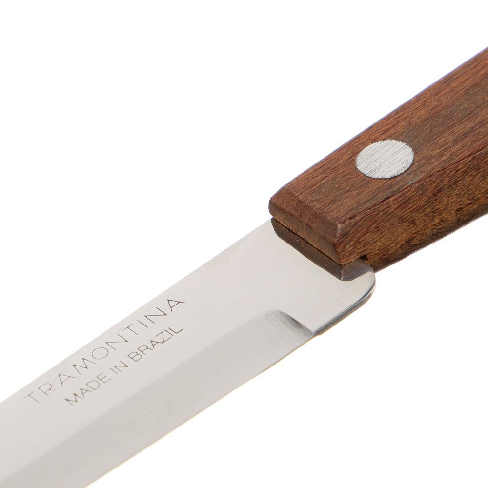 Tramontina Tradicional Нож кухонный 12.7см, блистер, цена за 2шт., 22212/205
