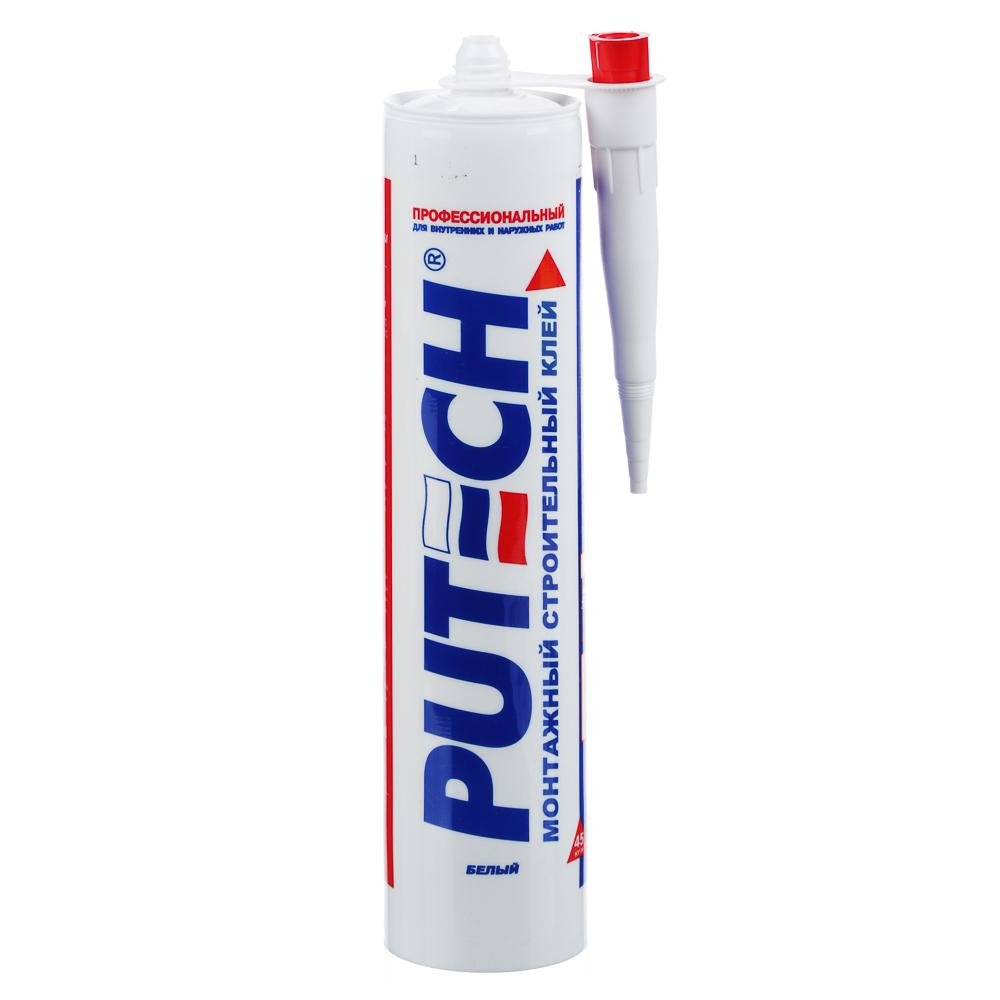 Клей монтажный - жидкие гвозди PUTECH, строительный, универсальный, 300мл,