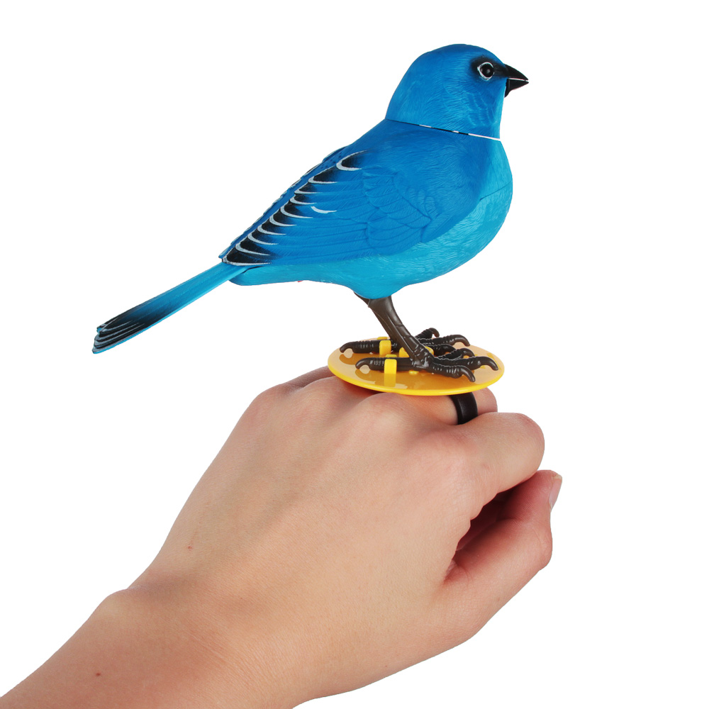 ИГРОЛЕНД Игрушка интерактивная в виде птицы, звук, движение, 2ААА, 16х5,2Х15,5 см, 8 дизайнов