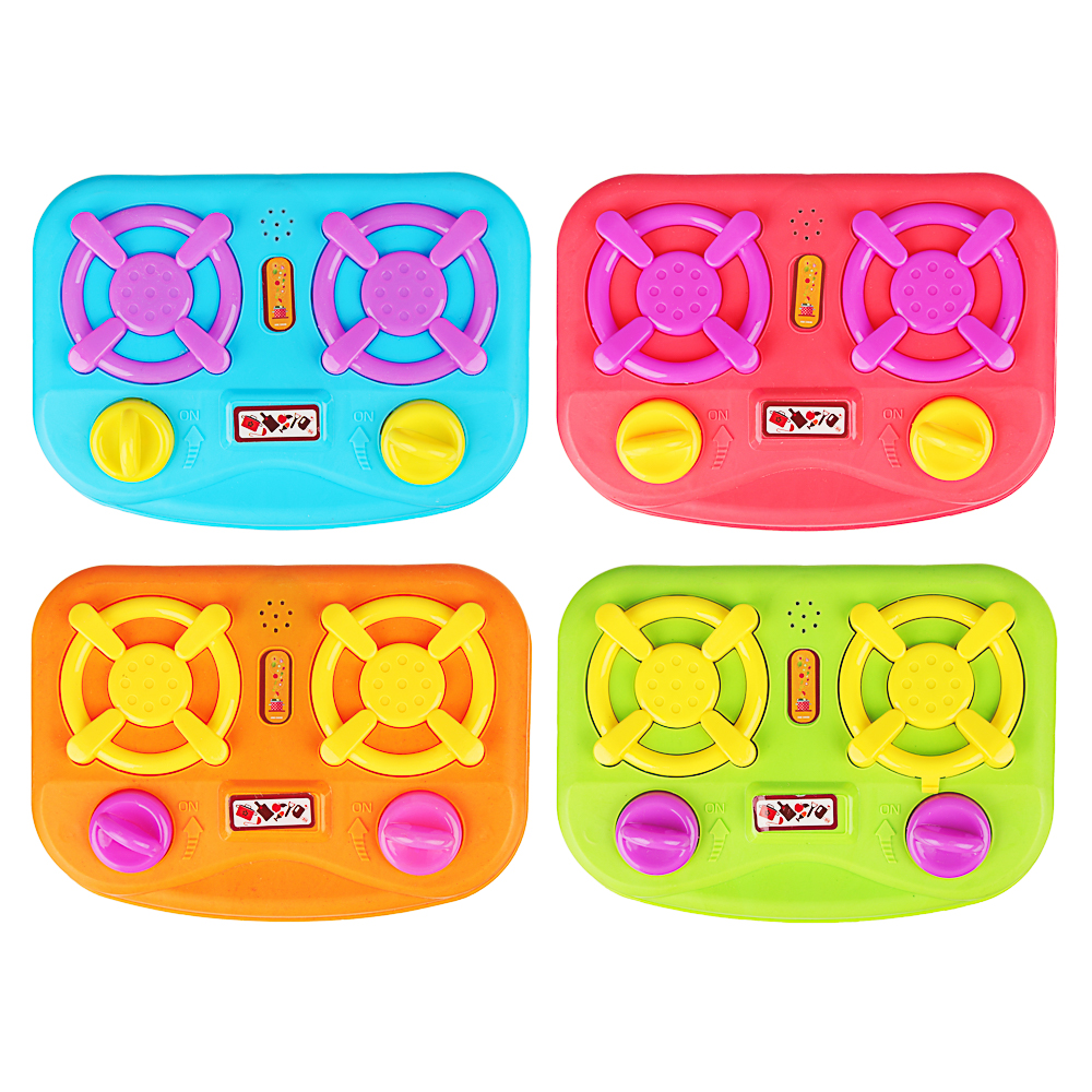 ИГРОЛЕНД Плита детская, пластик, звук, 3АА, 20,5х13,5х4см, 4 дизайна