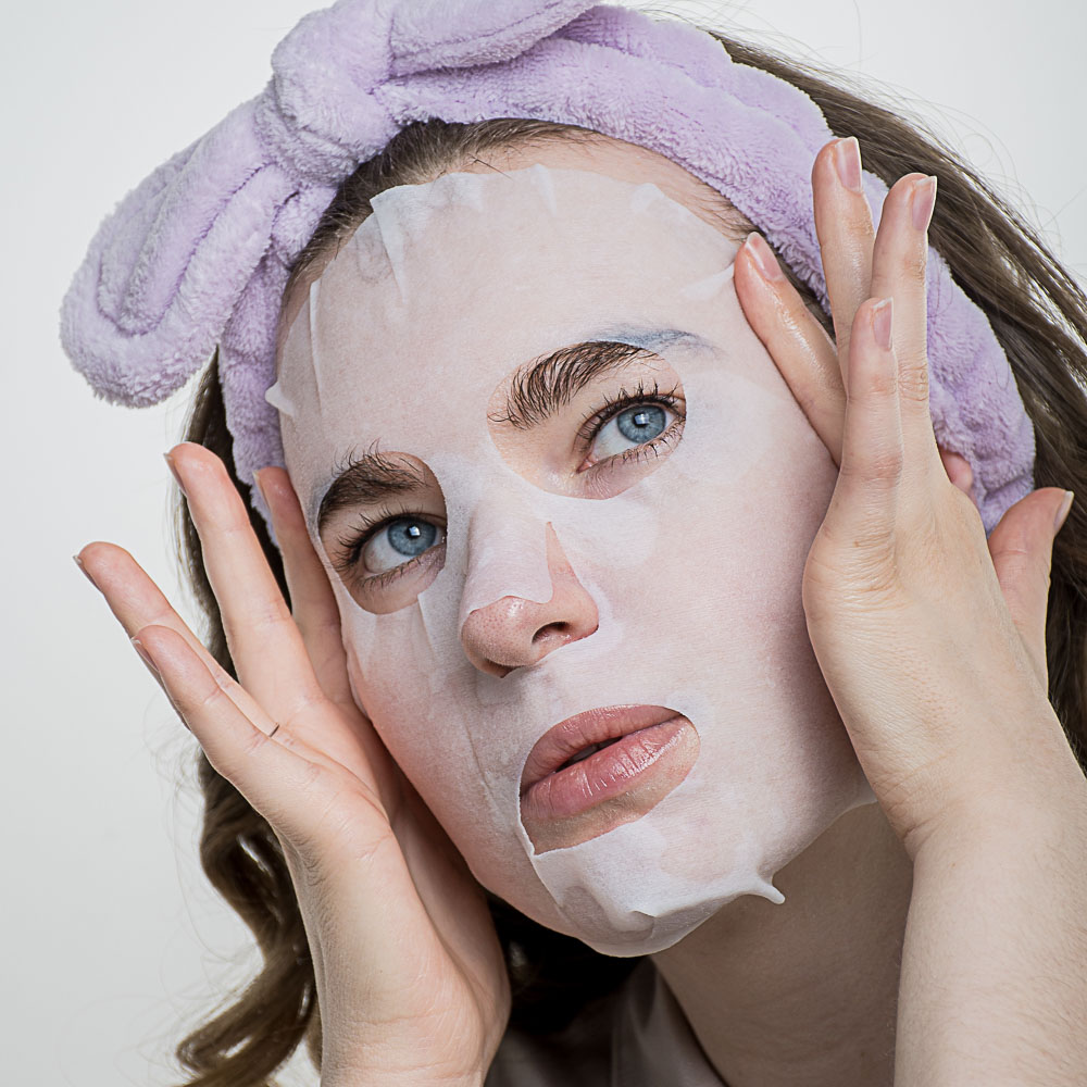 Маска тканевая для лица ЮниLook, увлажняющая, с экстрактом огуречного сока, 25 мл