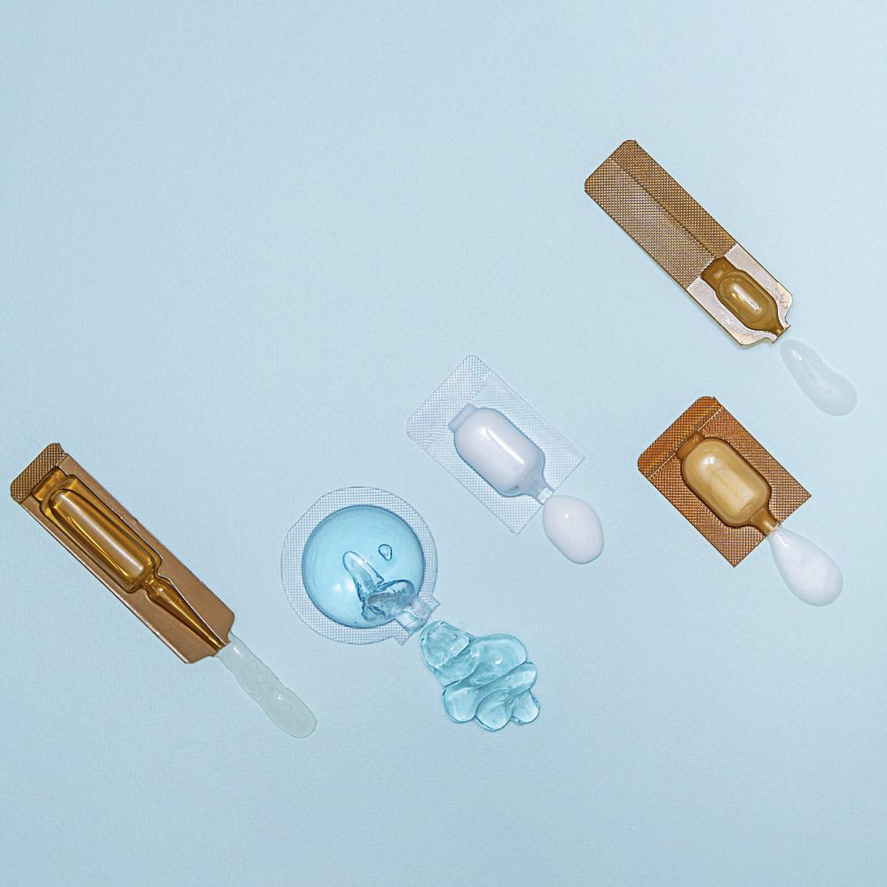 Маска для лица гелевая ЮниLook, увлажняющая и восстанавливающая, с гиалуроновой кислотой, 10 мл