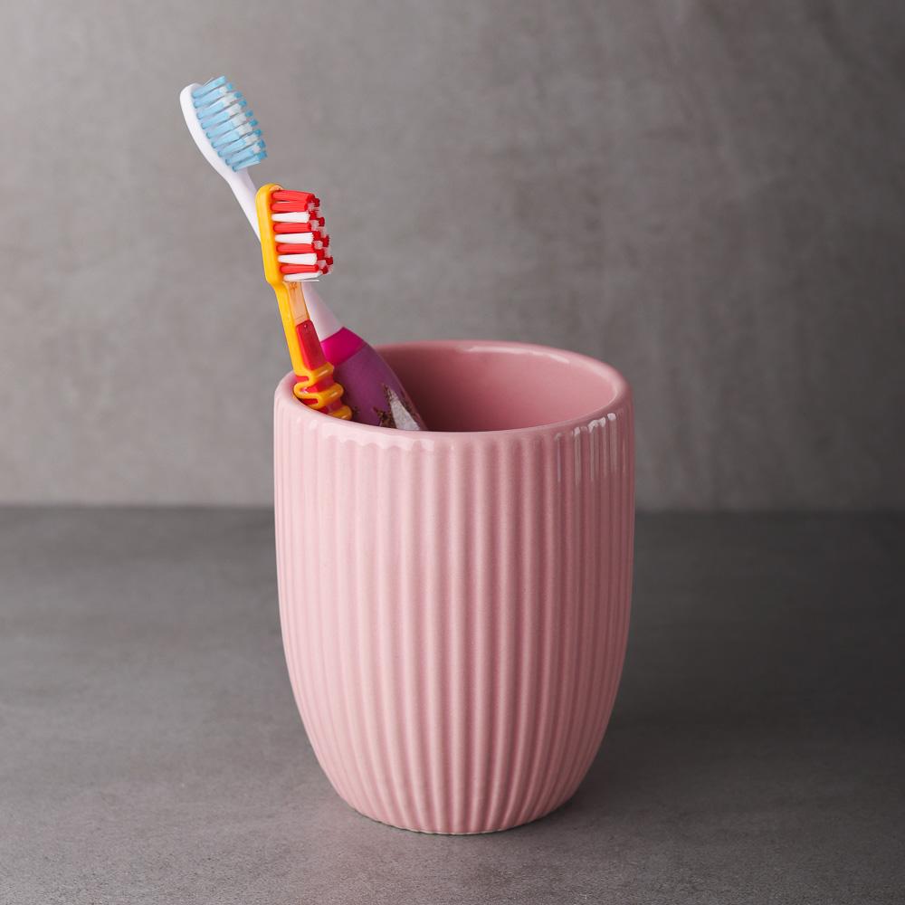 """VETTA Стакан для ванной комнаты """"Палермо"""", керамика, 3 цвета"""