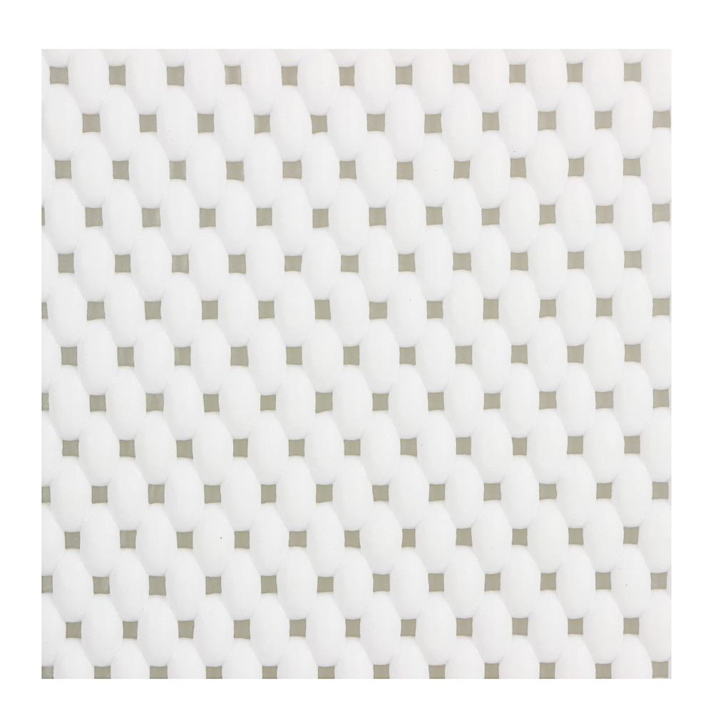 VETTA Подушка водостойкая для ванны на присосках, ПВХ, 29х31х5см, белая