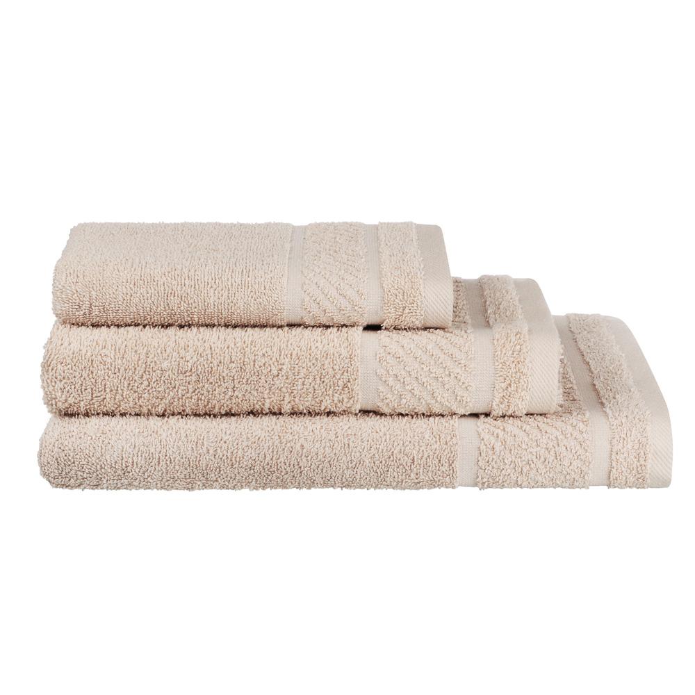 PROVANCE Виана Полотенце махровое, 100% хлопок, 50х90см, 450гр/м, бежевый