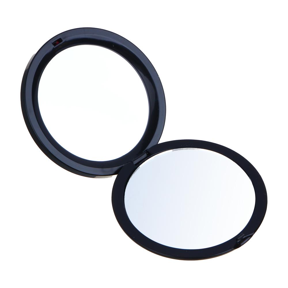 Зеркало карманное ЮниLook, d.6,8 см, 12 дизайнов