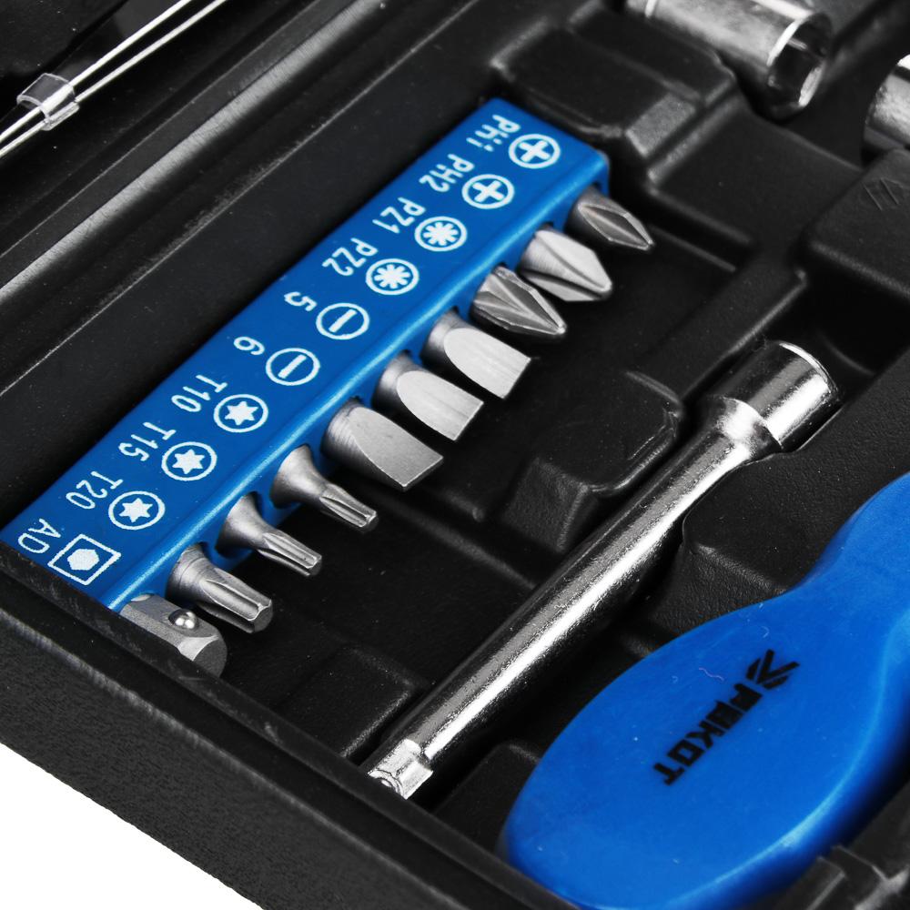 РОКОТ Набор инструментов 26 пр., в пластиковом кейсе