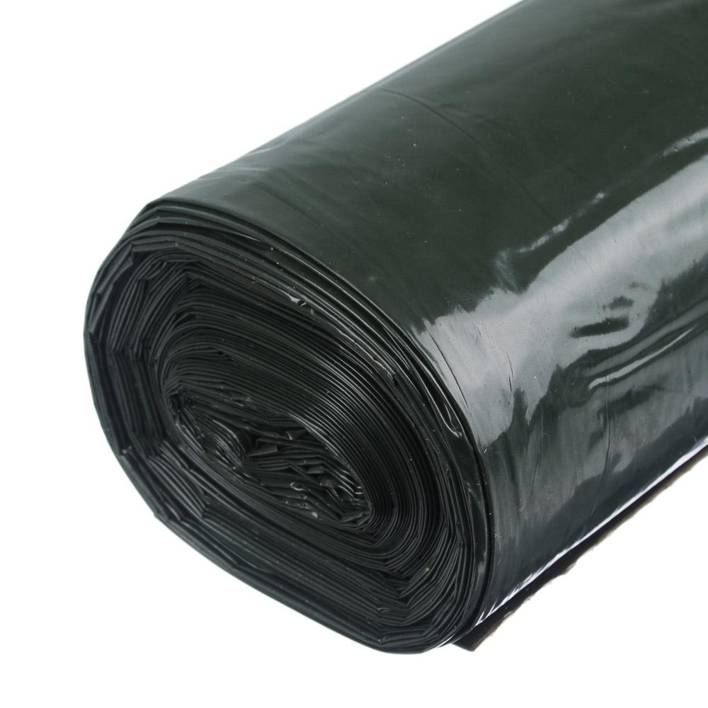 GRIFON Мешки для мусора SUPER POWER, двухслойные прочные, 160л, 35мкм, 10шт, хаки, 101-092