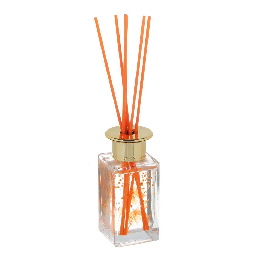 LADECOR Аромадиффузор с палочками и декором, 100мл, 3 аромата