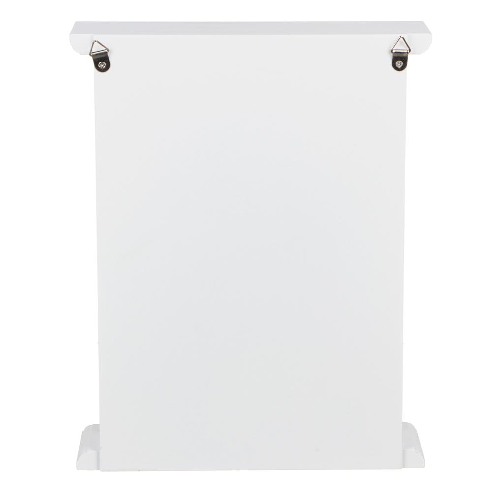LADECOR Ключница закрытая, 20х27,5х6,5см, МДФ, 2 дизайна, арт.1