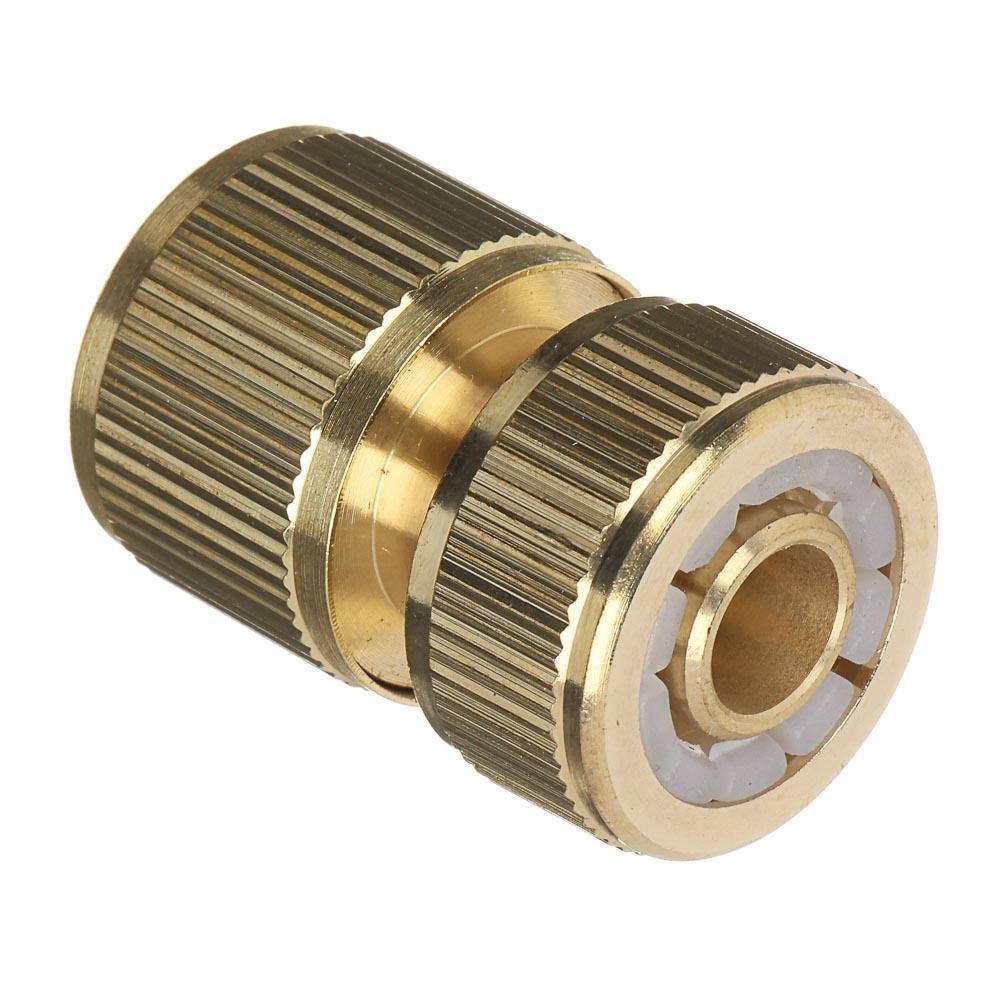 """INBLOOM PROF+ Коннектор для шланга d1/2"""", латунь MY-301"""