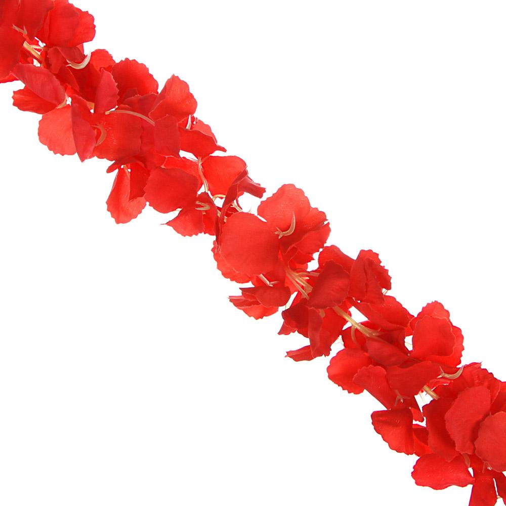 LADECOR Растение искусственное Лиана цветочная 1,7м, полиэстер, 6 цветов