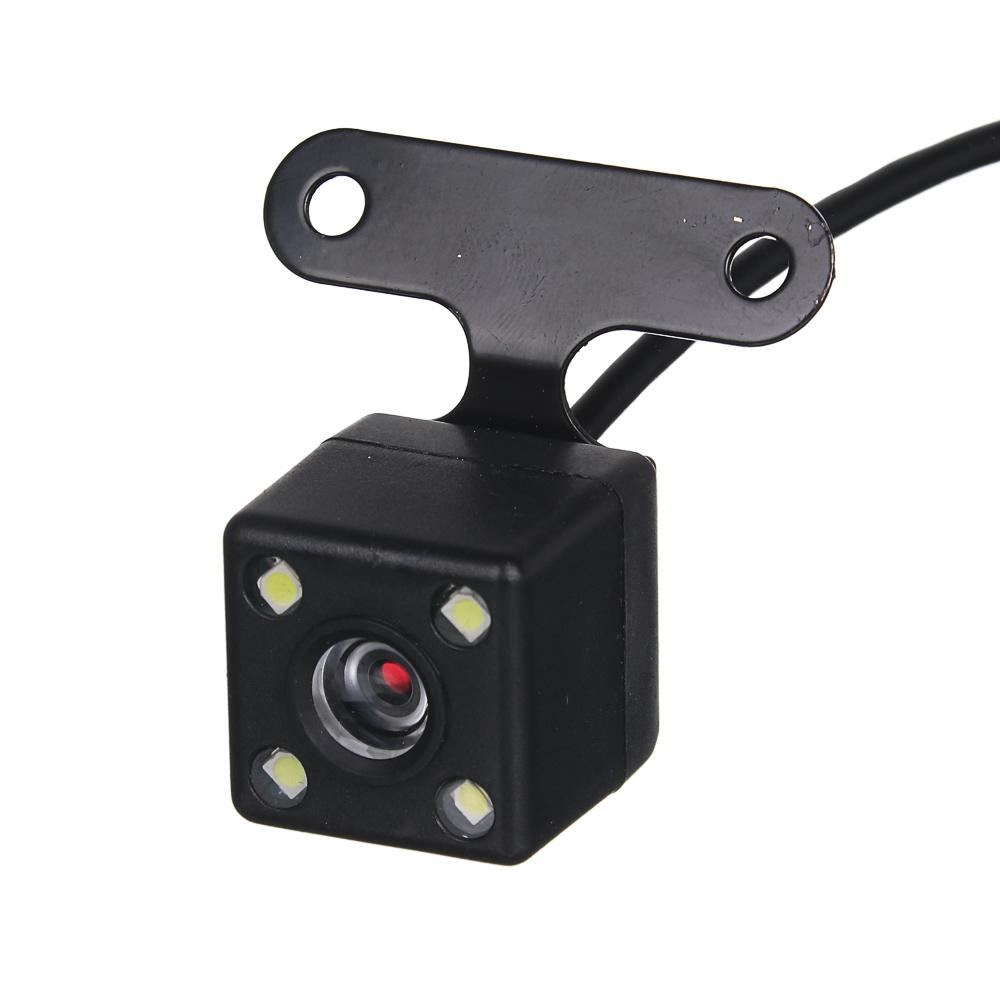 """NG Видеорегистратор Full HD с 2 камерами, 150гр, дисплей 4"""", Micro-SD, 12/24 В 3.4М, пластик"""