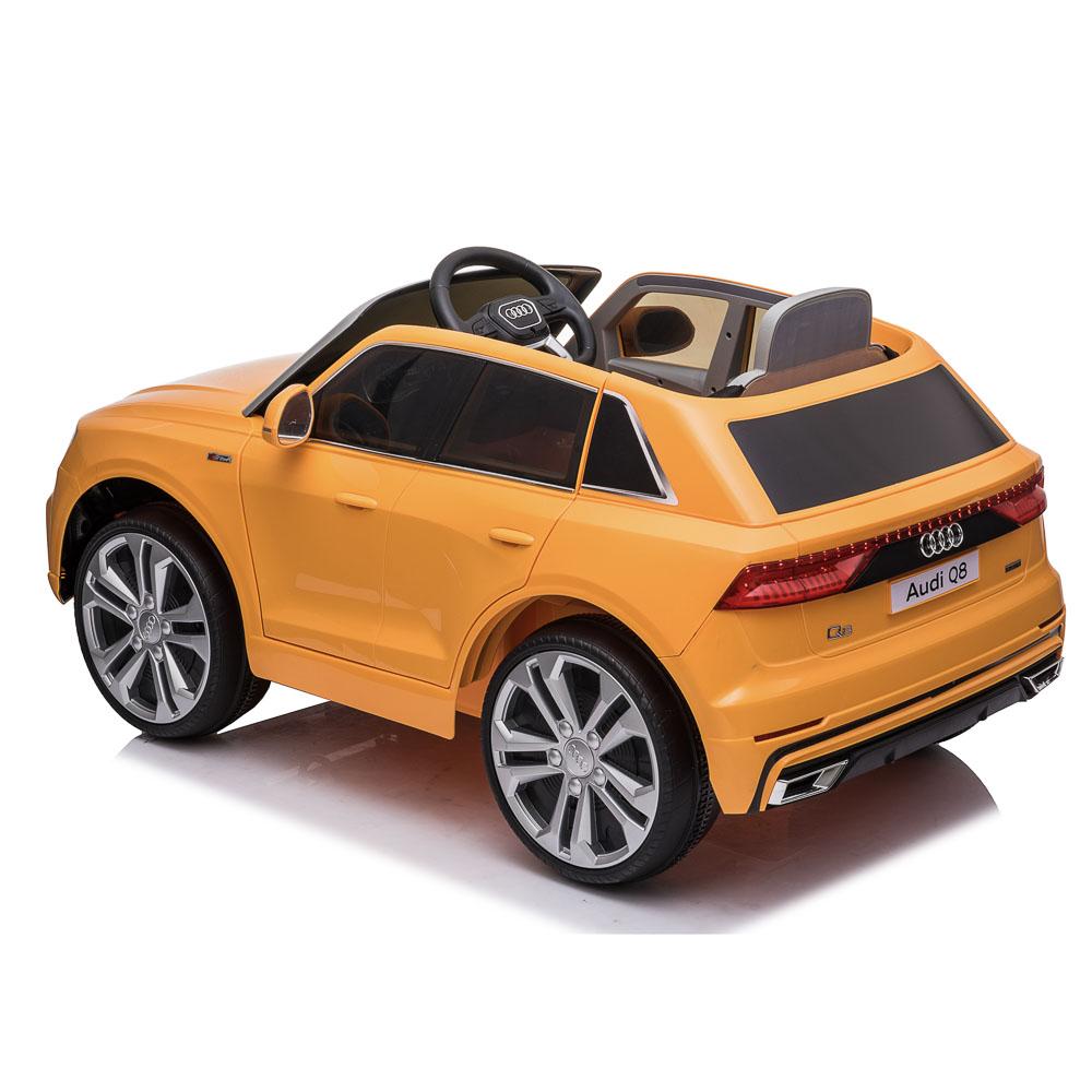 Электромобиль AUDI Q8, свет, звук, 2x6V7AH, PP, 108x66x55см