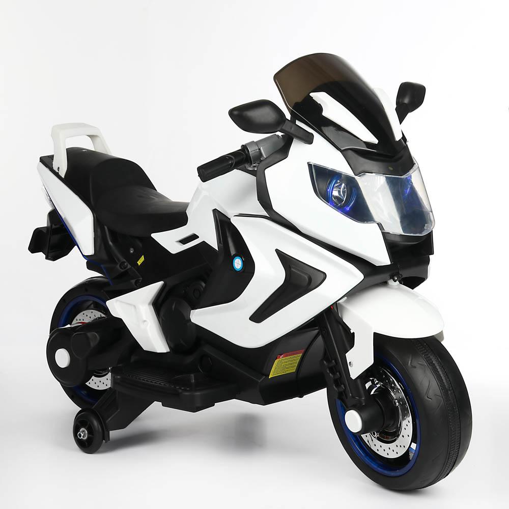 """ИГРОЛЕНД Электромотоцикл """"Спортбайк"""", свет, звук, 12V7AH, PP, 86х140х70см"""