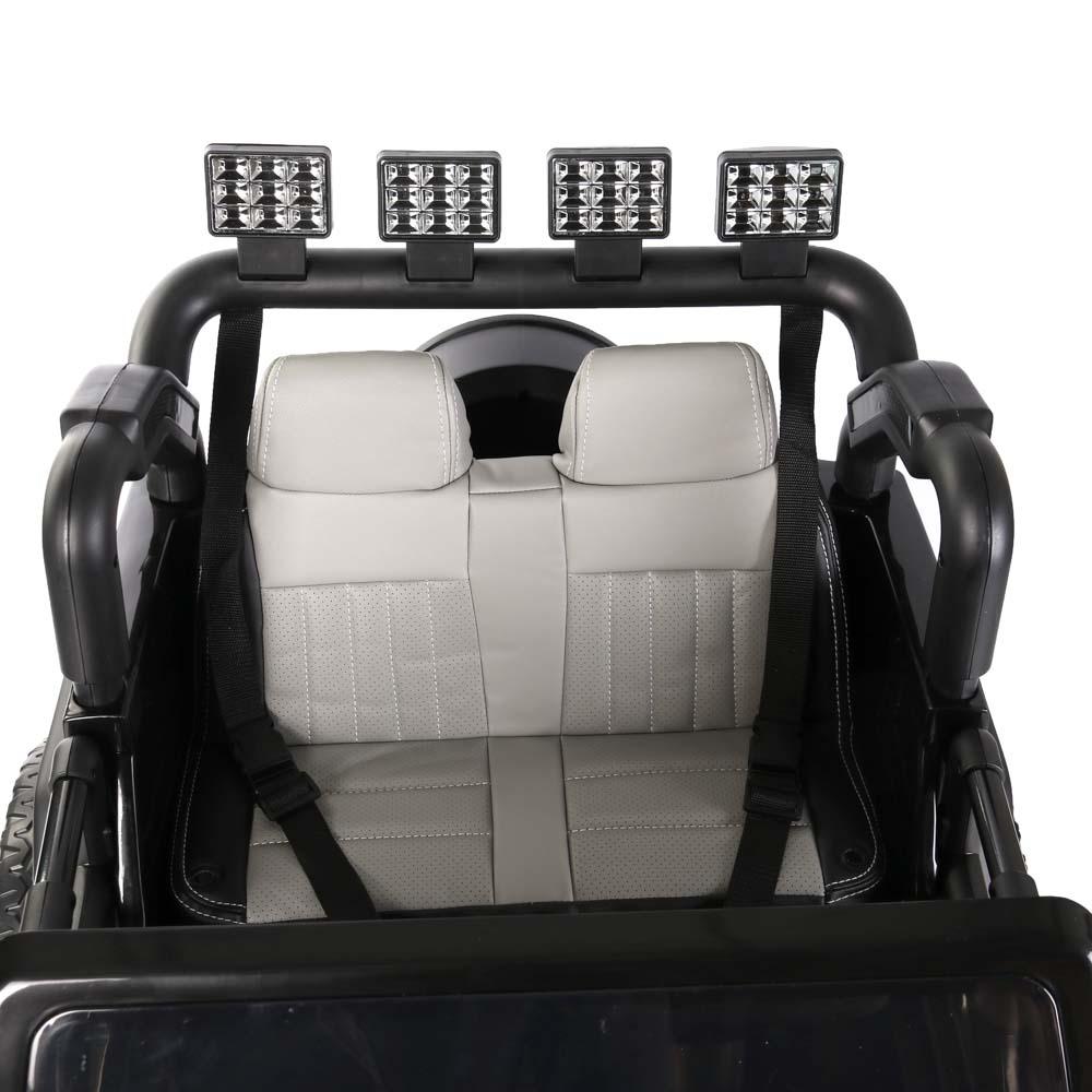 ИГРОЛЕНД Электромобиль внедорожник, полный привод, свет, звук, 12V7AH, PP, 140х70х86см