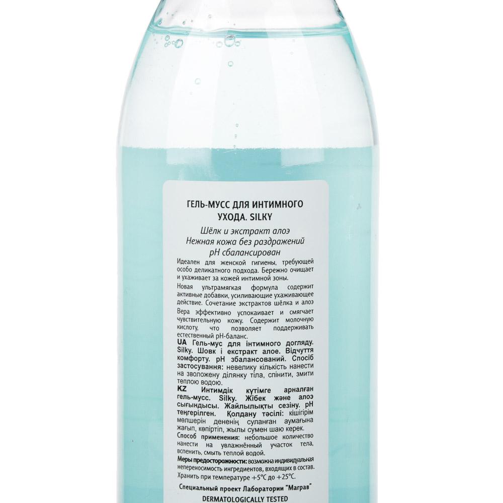 Средство для интимного ухода Lady Comfort мыло жидкое Хлопок и ромашка/гель Silky шелк и алоэ,500мл