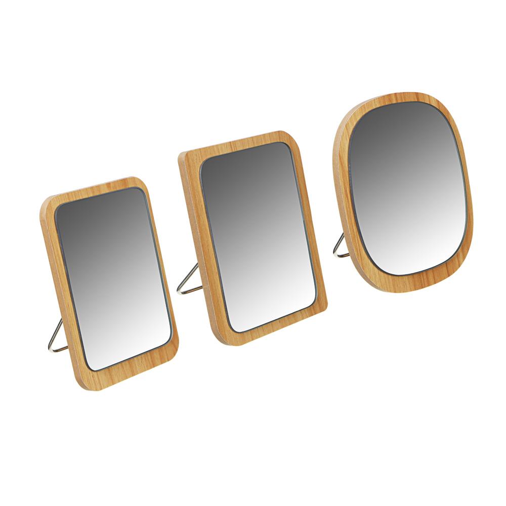 Зеркало настольное ЮниLook, 3 дизайна