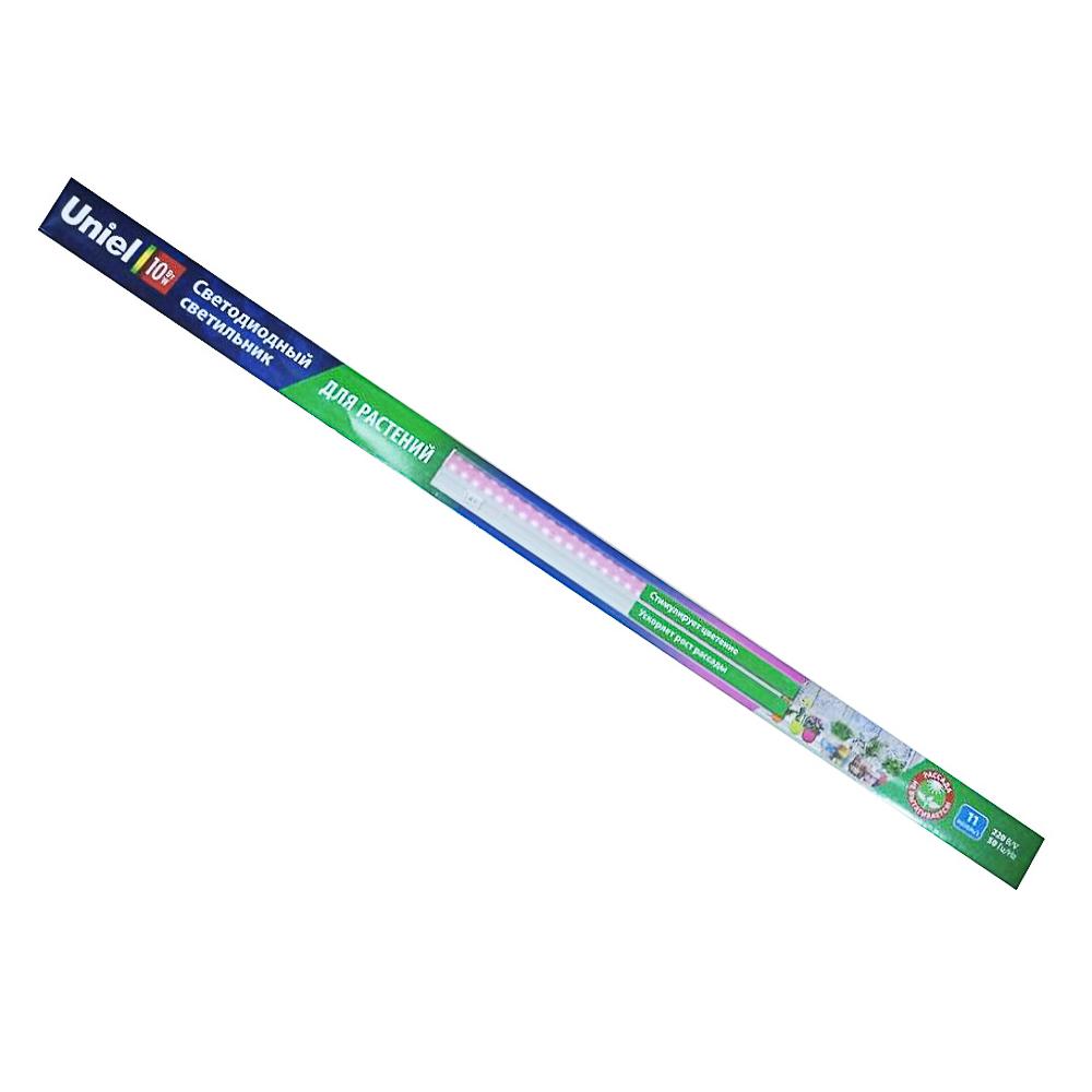 Светильник для растений светодиодный линейный,ULI-P20-10W/SPSB IP40 WHITE 550мм, 10 ватт
