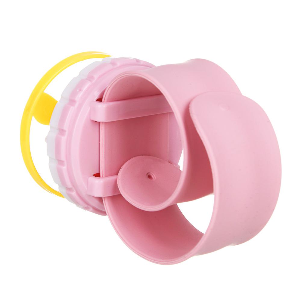 """ИГРОЛЕНД Кляк-браслет """"Стреляющий дисками"""", пластик, 27х11см, 2 цвета"""
