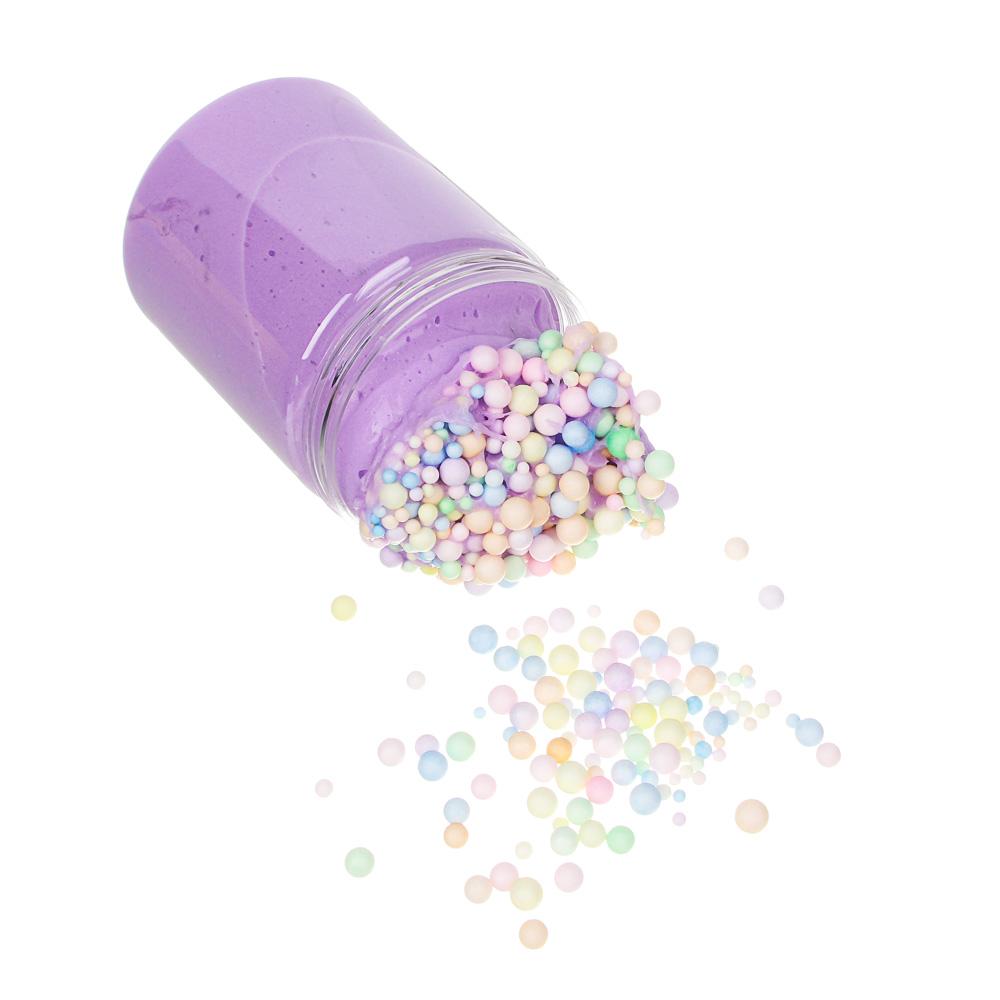 LASTIKS Слайм с наполнителем, полимер, 12х6,5см, 6-8 цветов
