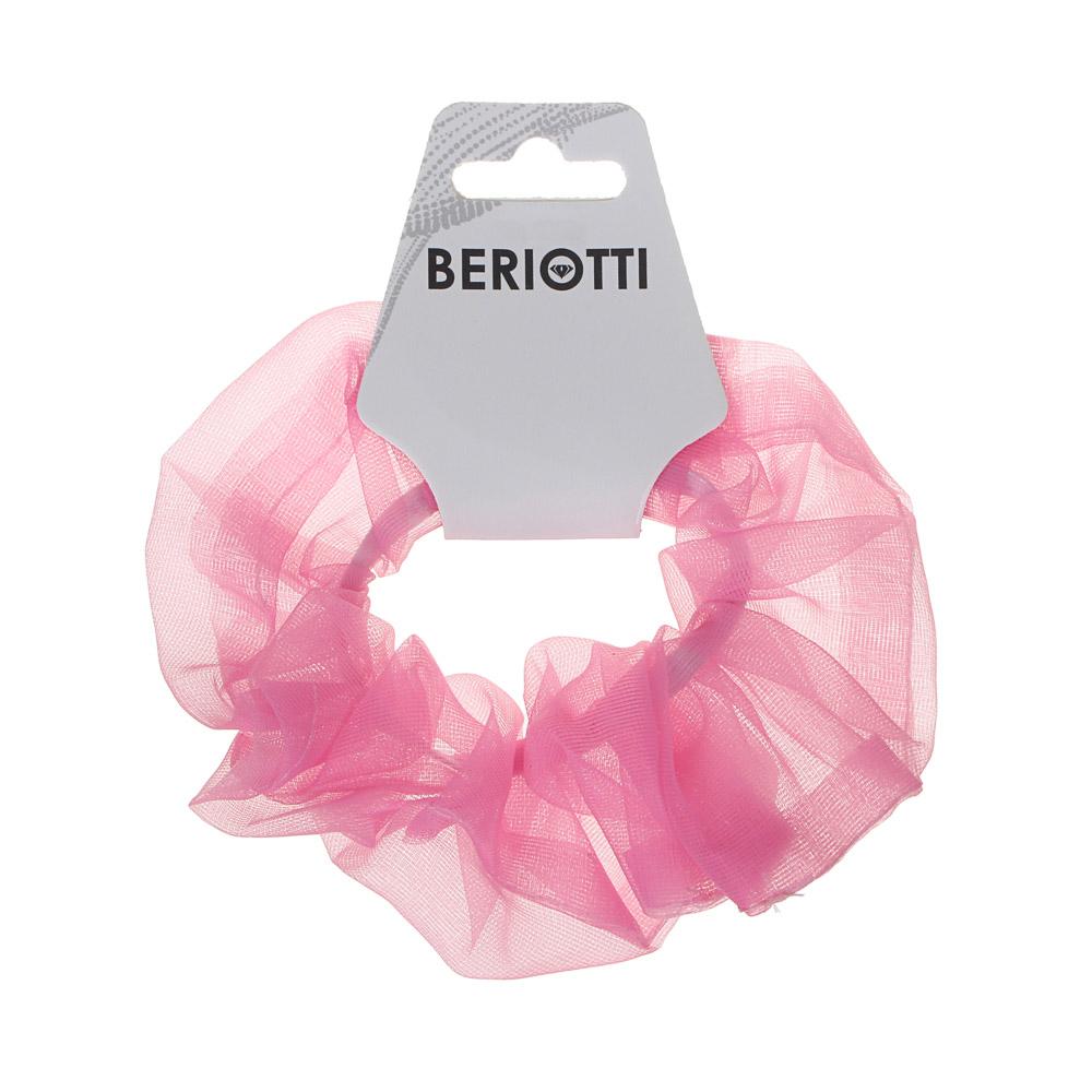 BERIOTTI Резинка для волос, полиэстер, d5см, 4-6 цветов, 16.11-1