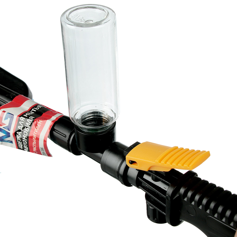 NG Щетка для мытья автомобиля, 53x8см, с распылителем, пластик