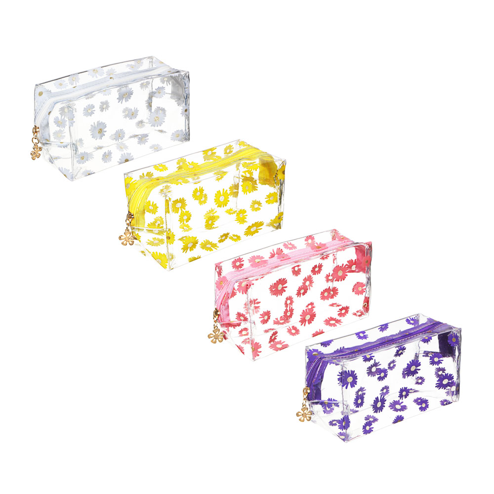 ЮL Косметичка, ПВХ, 17x10x7см, 4 цвета, 30-2