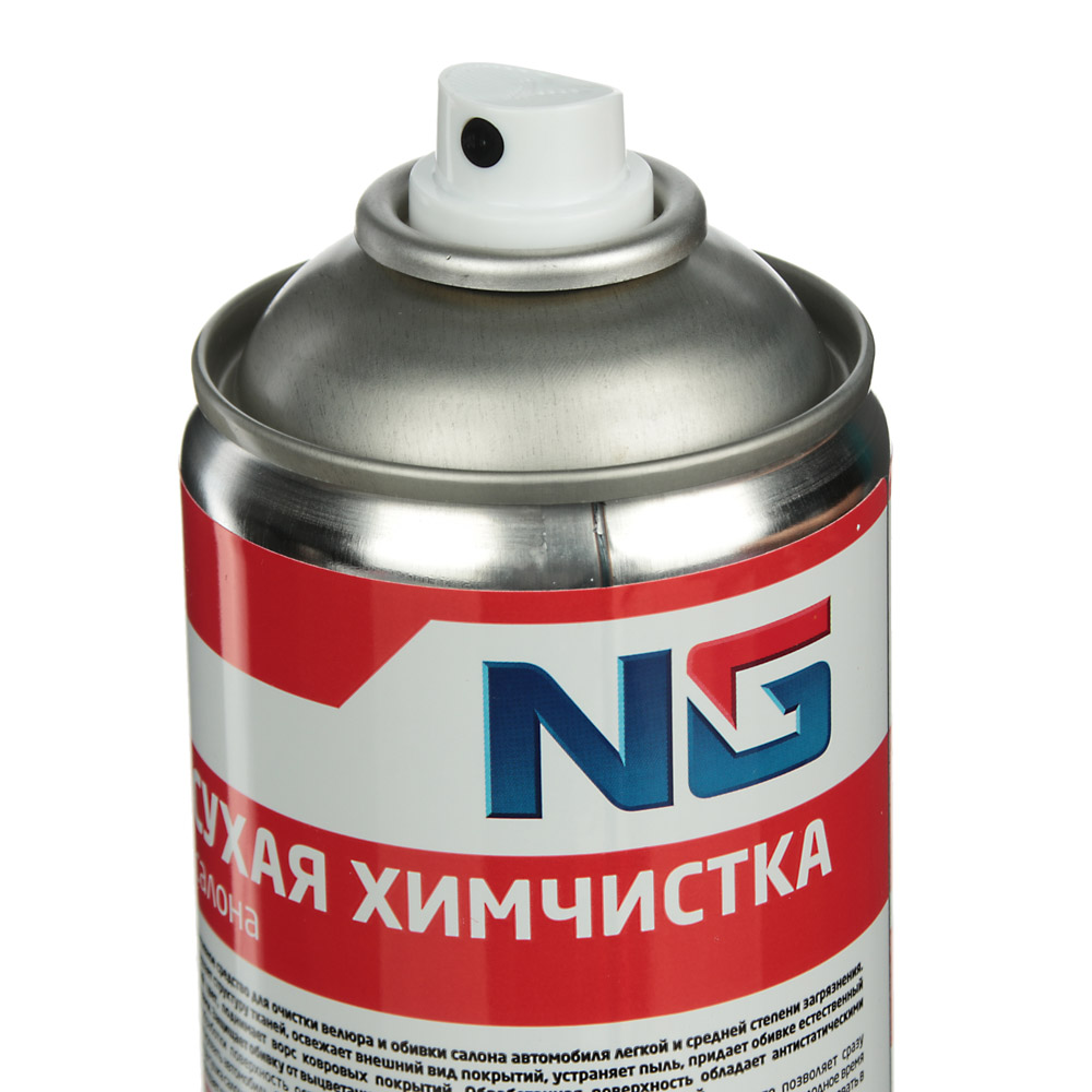 "NG Сухая химчистка ""пенная"" щетка-крышка, аэрозоль, 520мл"