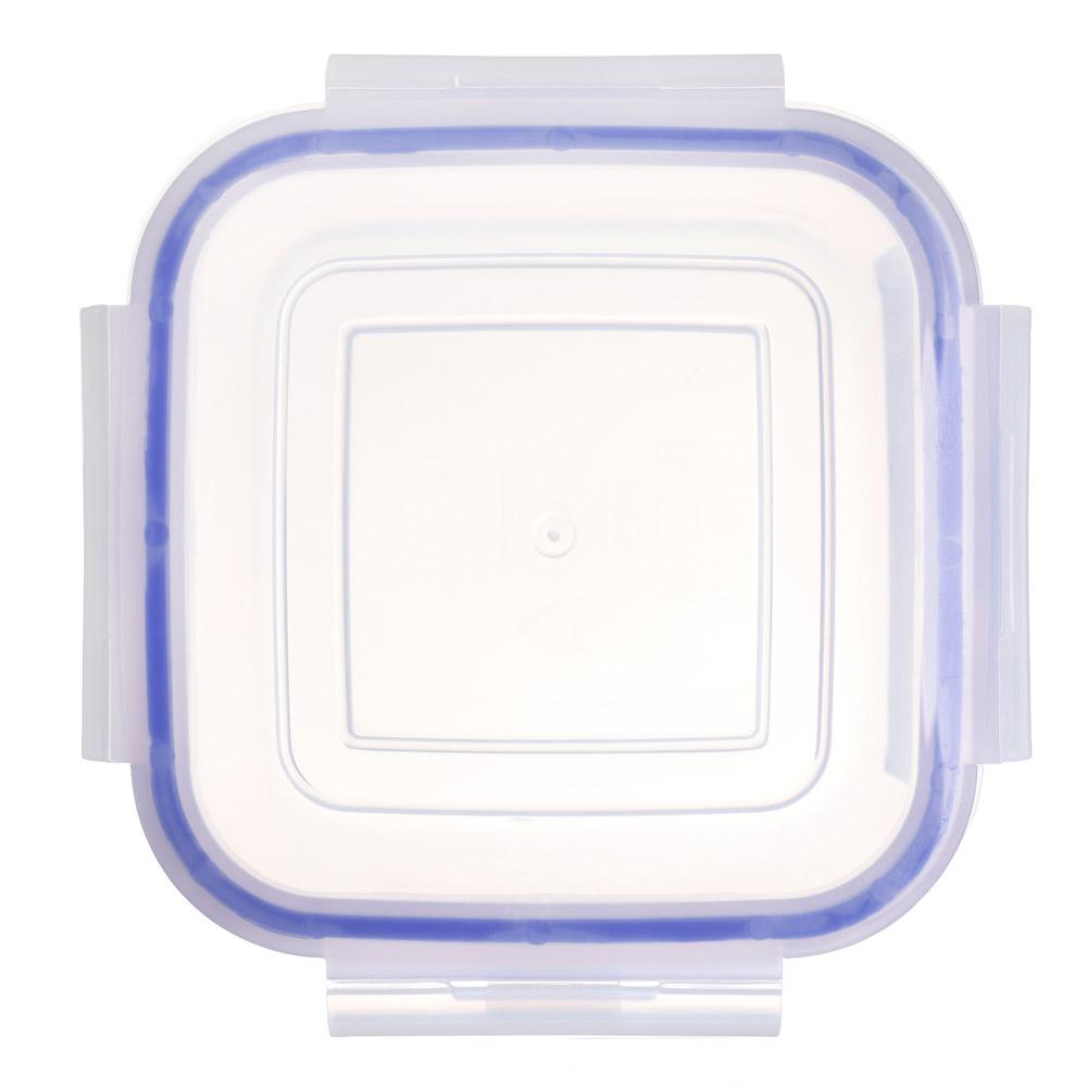VETTA Контейнер для СВЧ пластик, квадратный с защелками, 0,45л