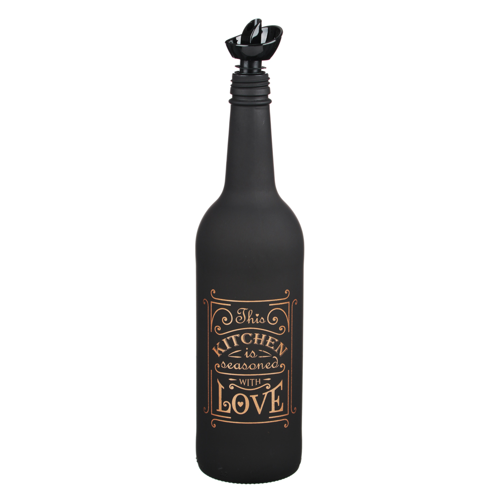 HEREVIN Блэк Эдишн Бутылка для масла 750мл, стекло, 151144-821