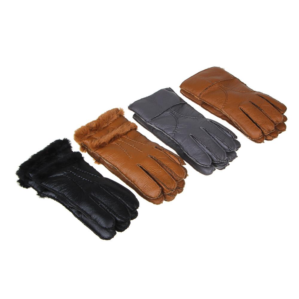 GALANTE Перчатки женские контактные, утепленные, р 19-20, 2 дизайна, ОЗ21-15