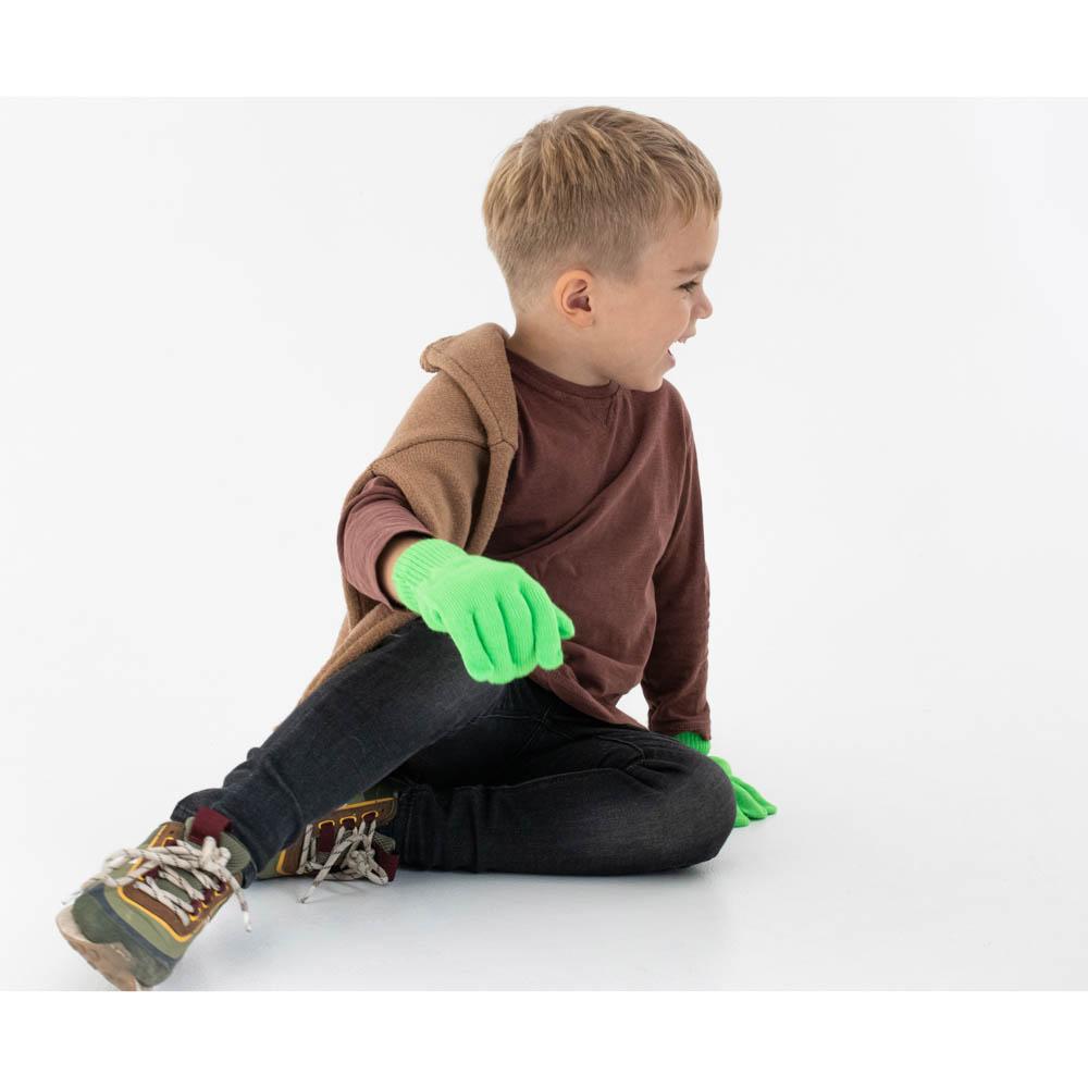 GALANTE Перчатки детские, р 14-16, 6 цветов, ОЗ21-18