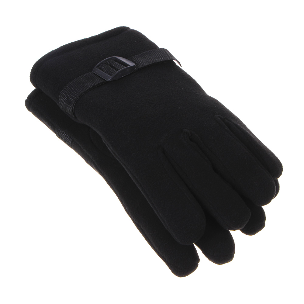 GALANTE Перчатки мужские, р 22-24, черный, ОЗ21-24