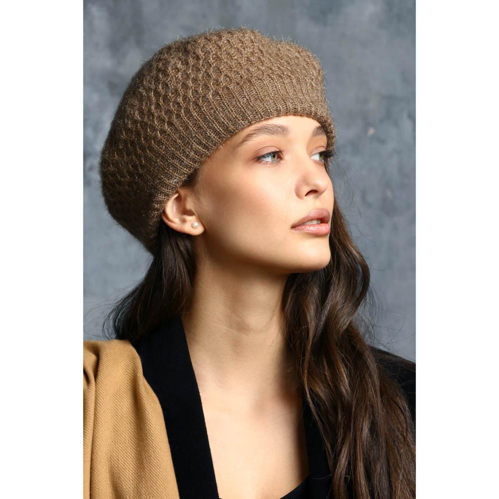 GALANTE Шапка женская, р 56-58, 2 дизайна, ОЗ21-49