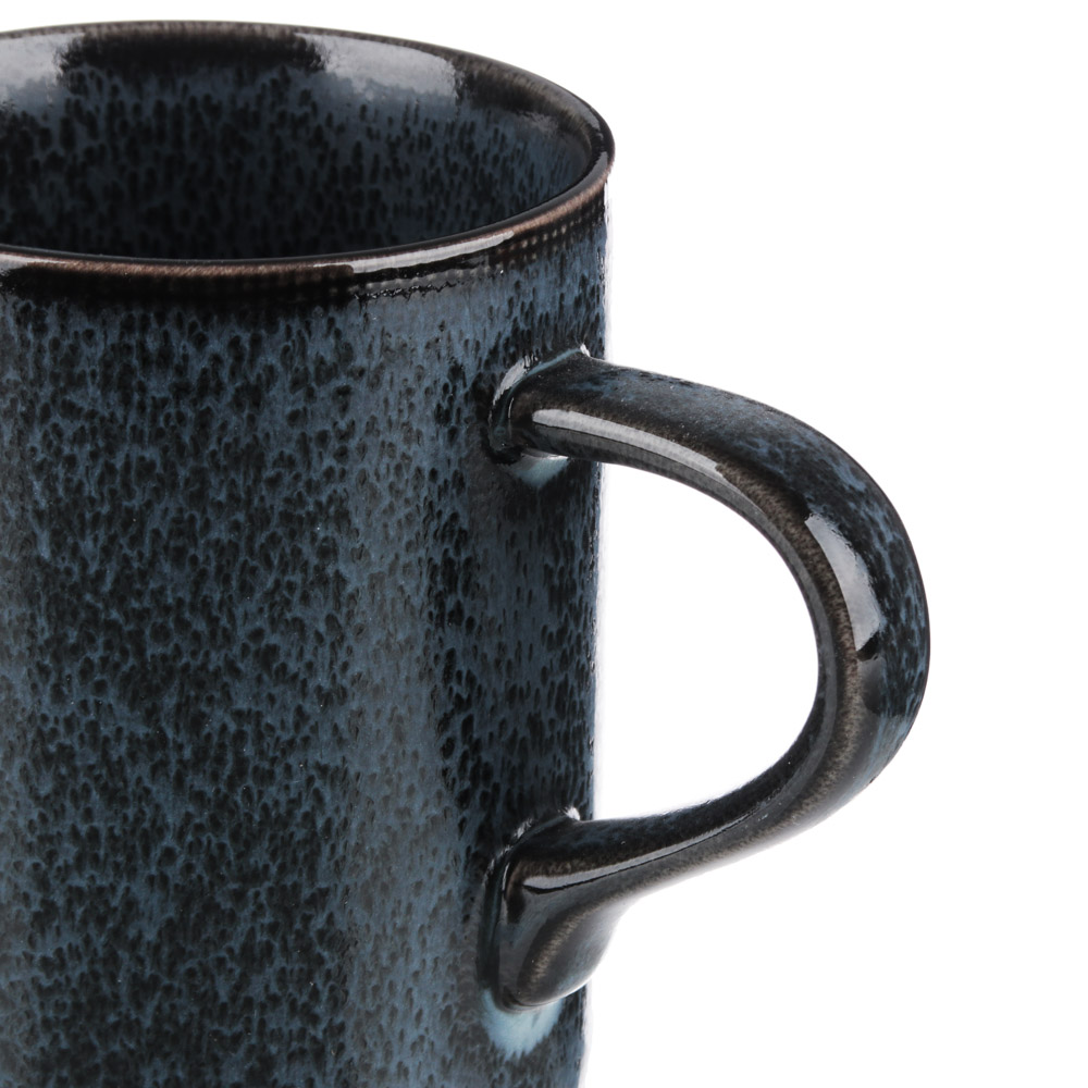 MILLIMI Блэк Джинс Кружка, 380мл, 12х8х10см, керамика