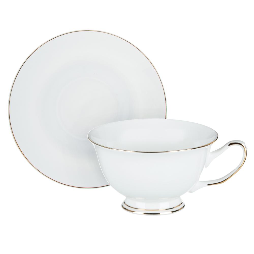 MILLIMI Жемчуг Набор чайный 12 пр., 220мл, 15см, костяной фарфор