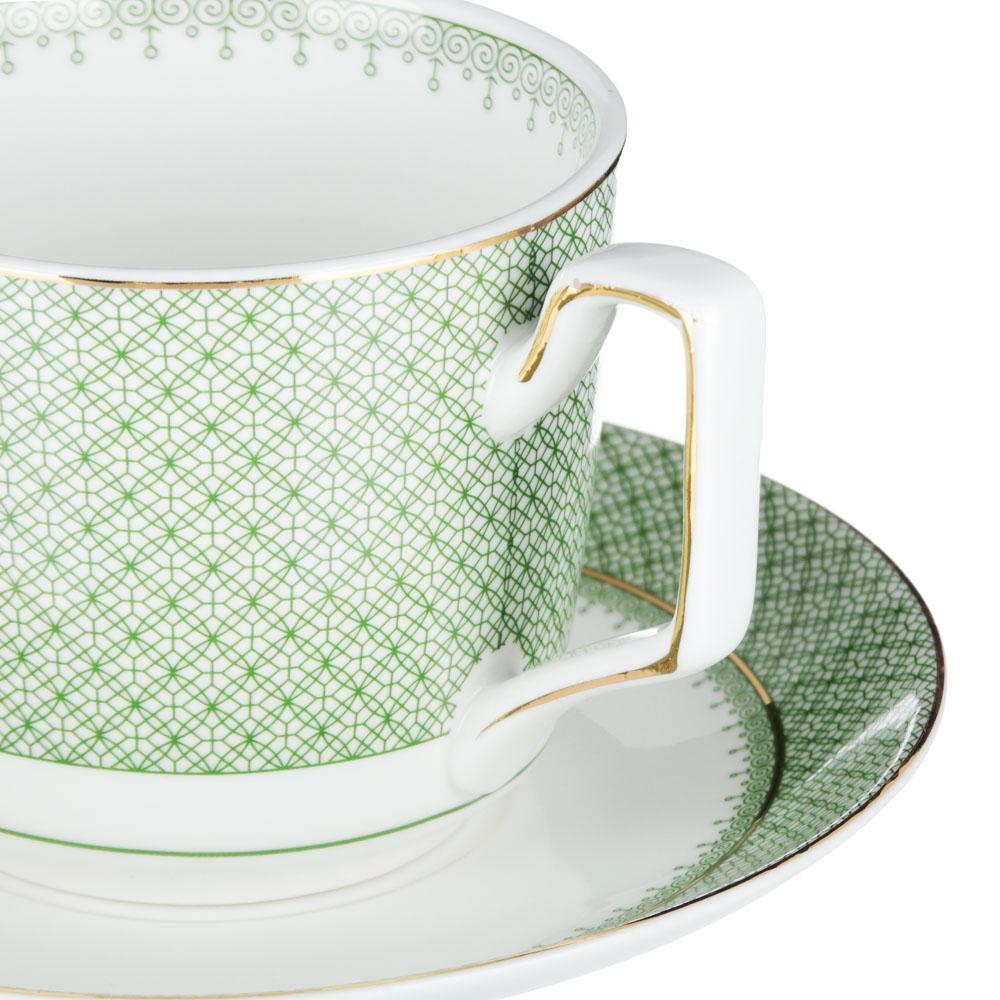 MILLIMI Арлекин Набор чайный 12 пр., 260мл, 15см, костяной фарфор