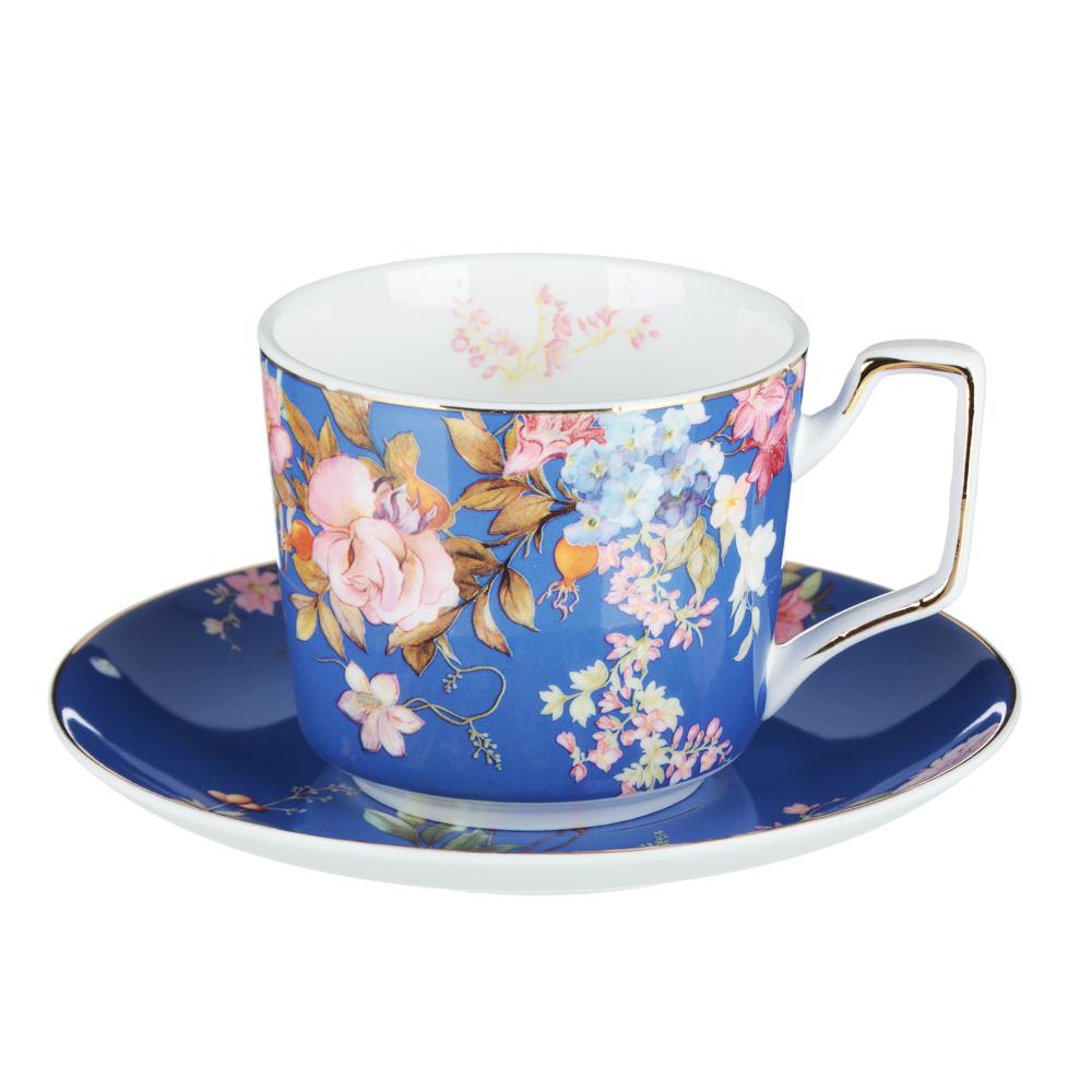 MILLIMI Японский сад Набор чайный 12 пр., 260мл, 15см, костяной фарфор