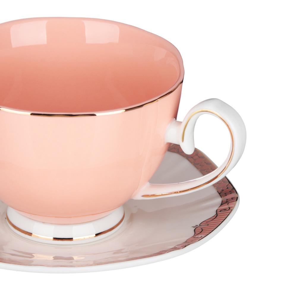 MILLIMI Мираж Набор чайный 12 пр., 260мл, 14см, костяной фарфор