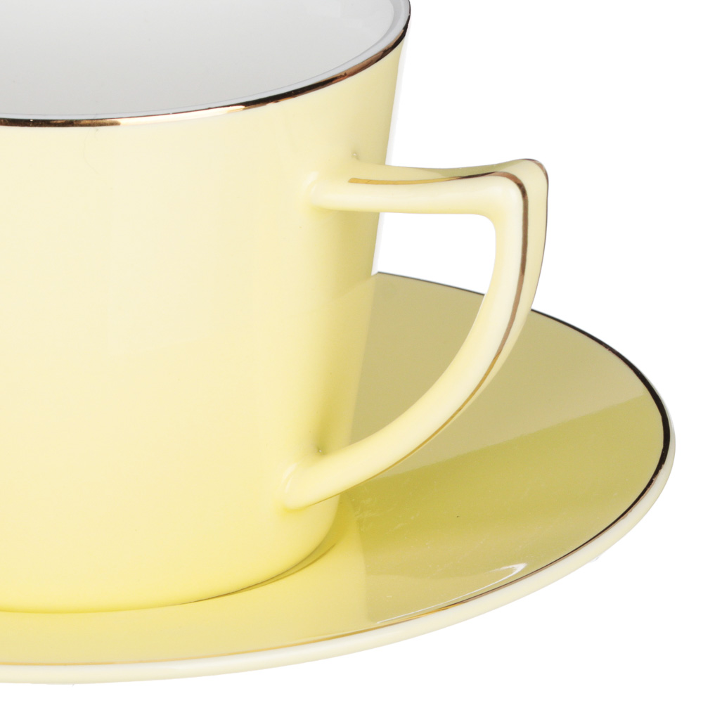 MILLIMI Радуга Набор чайный 2 пр., 250мл, 15см, костяной фарфор, 4 цвета