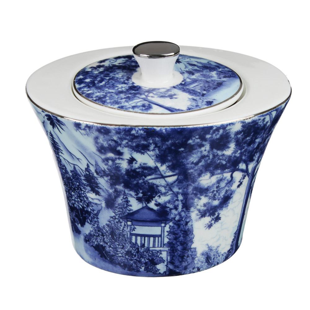 MILLIMI Дивный лес Набор чайный 14 пр., чашка 270мл, 16см, чайник 650мл, сахарница 230мл, кост. фрф