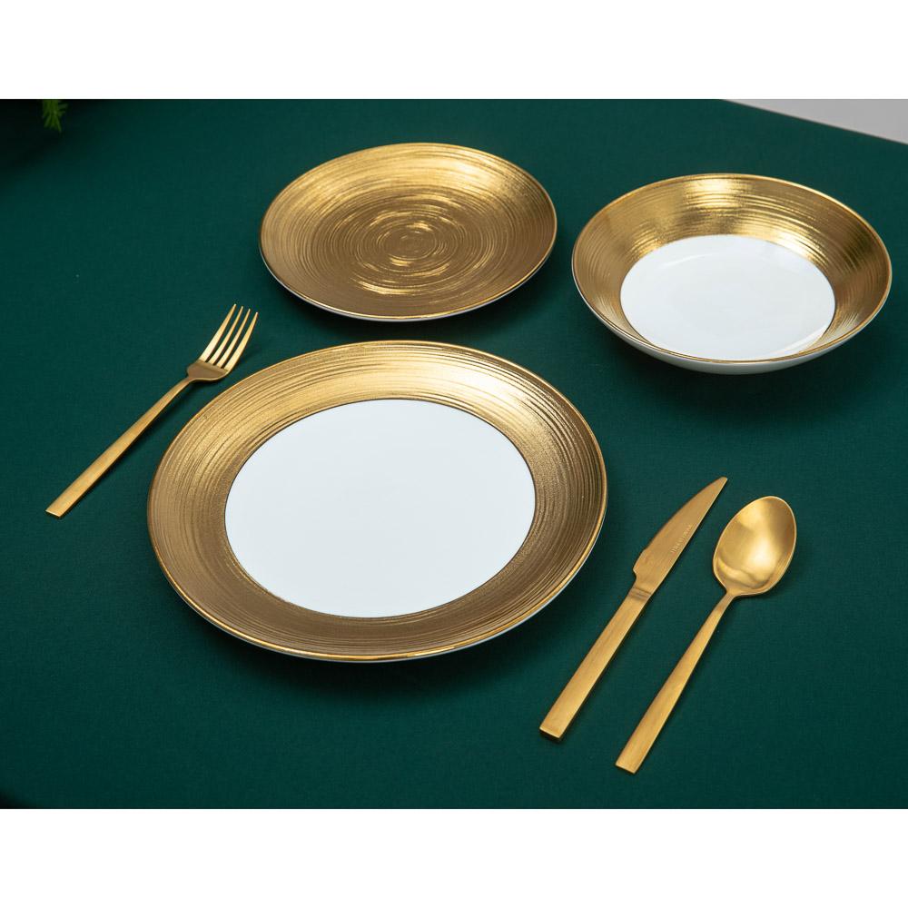 BY Голд фэнтези Тарелка суповая, 21х5см, фарфор